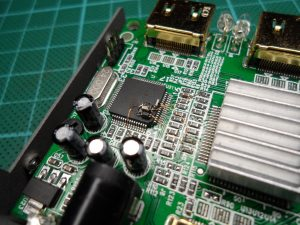 Decoupling & Series Resistor